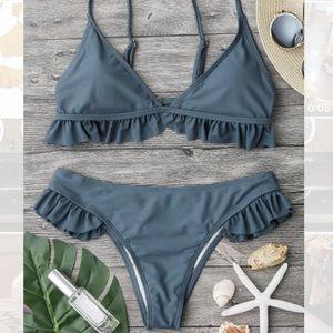 Zaful ruffle bikini